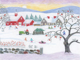 Christmas in the Country Print