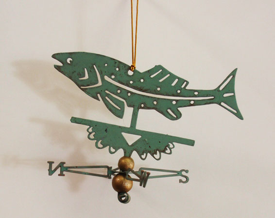 Jumping Fish Ornament