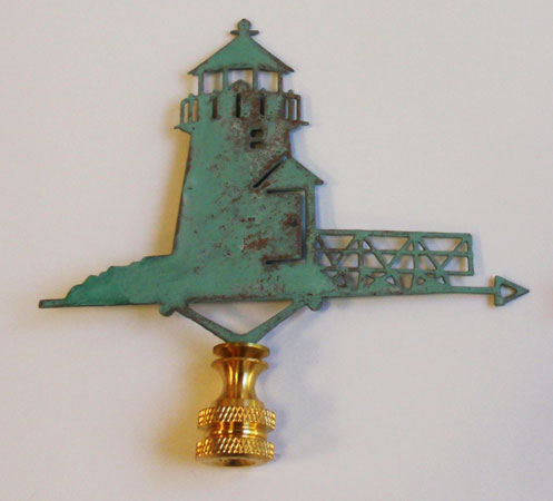 Lighthouse Finial