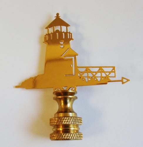 Lighthouse Petite Finial