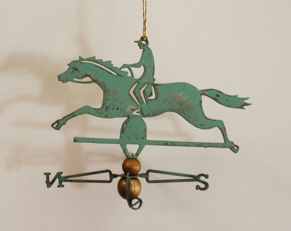 Horse with Rider Ornament