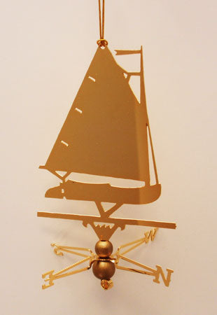Catboat Ornament