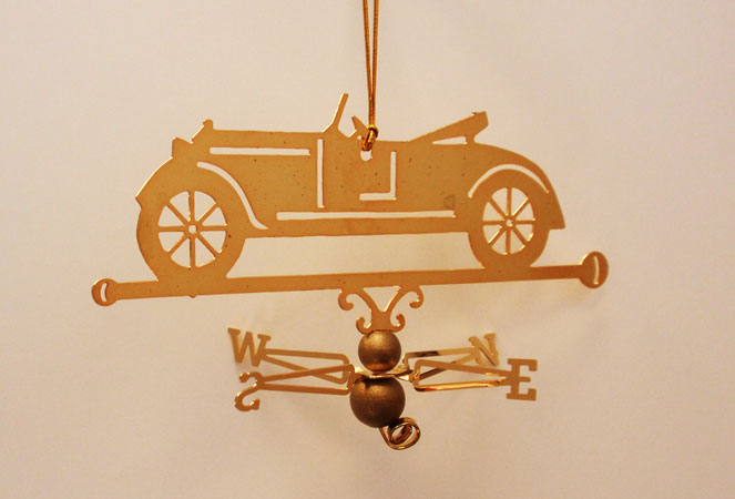 Roadster Ornament