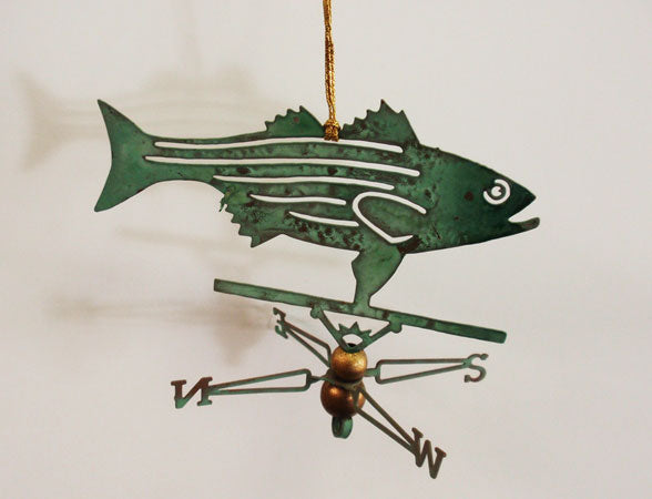 Striper Ornament