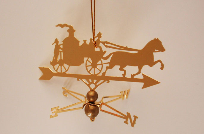 Fire Wagon Ornament