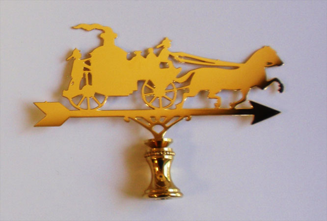 Fire Wagon Finial