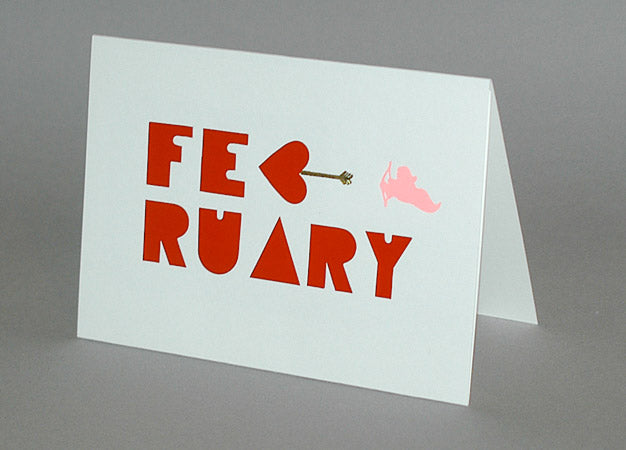 February Birthday Card