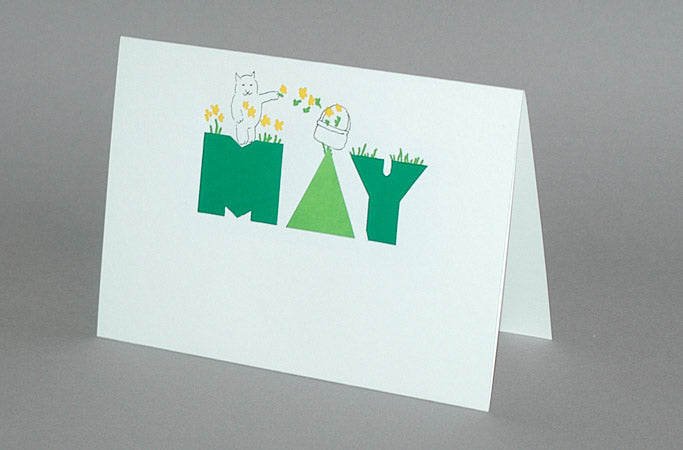 May Birthday Card