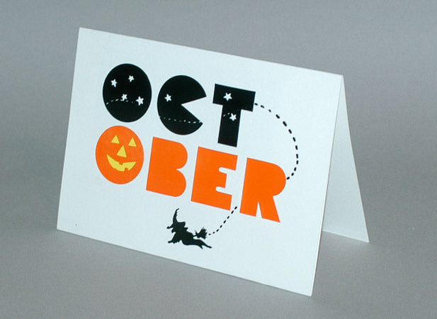 October Birthday Card