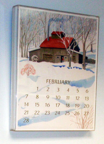 11x14 Acrylic Frame for Art Calendar
