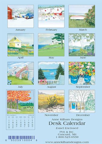 2022 Desk Calendar - Loose Pages