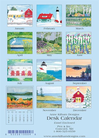2021 Desk Calendar - Loose Pages