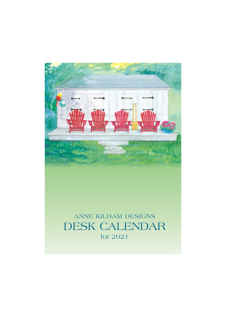 2021 Desk Calendar - Wire Bound