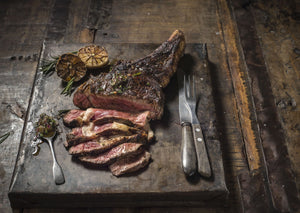 25 oz Cote De Boeuf Dry-Aged in Achill Sea Salt