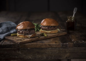 6oz Gluten Free Angus Burger | Catering Pack x 20