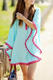 Pom Pom Beach Cover Up