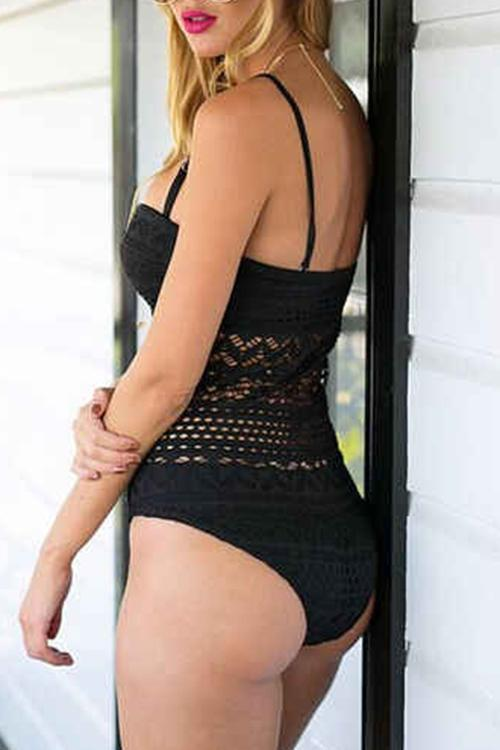 Lace Woven Sexy One Piece