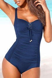 Bandage Drape One Piece