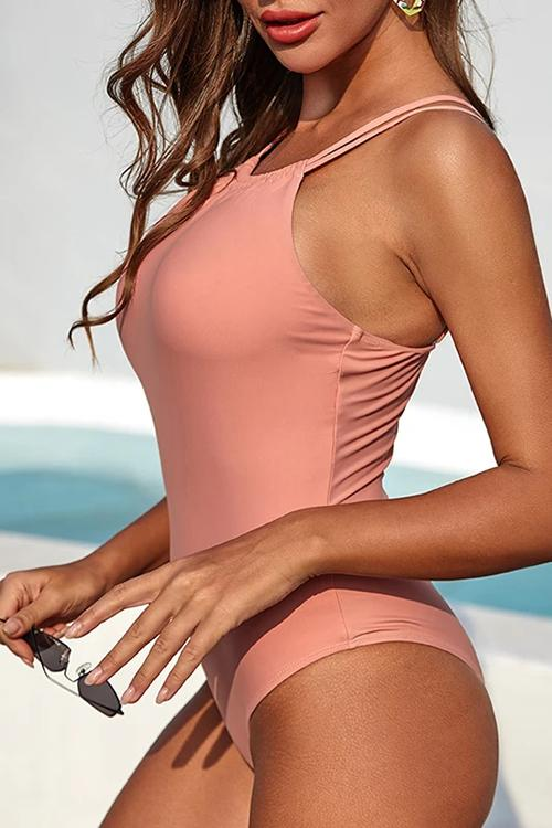 Adjustable Strap Cute One Piece Swimsuits
