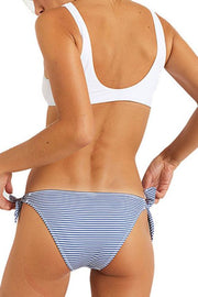 Coconut Tree Striped Summer Bikini