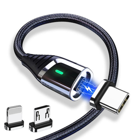 Essager Magnetic Charger Micro USB Cable for iPhone Samsung
