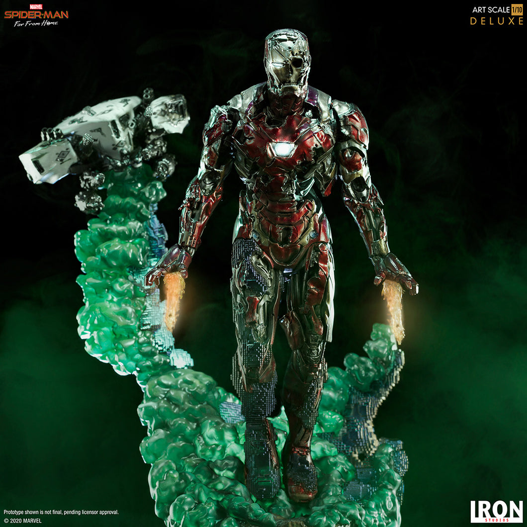 Spider-Man 2 Far From Home - Zombie Iron Man Illusion BDS Art Scale Deluxe 1/10 Scale Statue Iron Studios