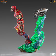 Load image into Gallery viewer, Spider-Man 2 Far From Home - Zombie Iron Man Illusion BDS Art Scale Deluxe 1/10 Scale Statue Iron Studios