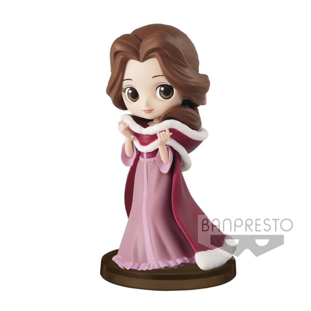 Beauty and the Beast - Belle Winter Costume Normal Colour Version Q Posket Petit Figure Banpresto