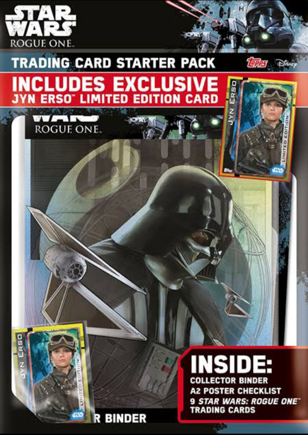 Rogue One A Star Wars Story - 9 Pocket Collectors Binder Topps