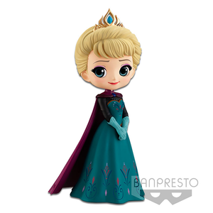Frozen - Elsa Coronation Style Normal Colour Version Q Posket Figure Banpresto