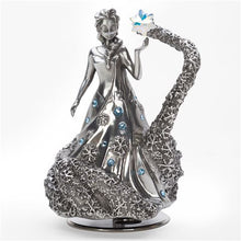 Load image into Gallery viewer, Frozen - Elsa with Swarovski crystals Limited Edition Musical Carousel Royal Selangor