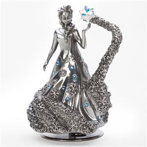 Frozen - Elsa with Swarovski crystals Limited Edition Musical Carousel Royal Selangor