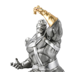 Avengers - Thanos the Conqueror with Gilt Infinity Gauntlet Limited Edition Figurine Royal Selangor