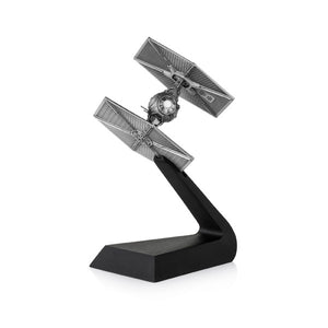 Star Wars - Tie Fighter Replica Pewter Statue Royal Selangor