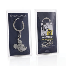Load image into Gallery viewer, Mickey Mouse -  Mickey Mouse Portrait Keychain 90th Anniversary Royal Selangor