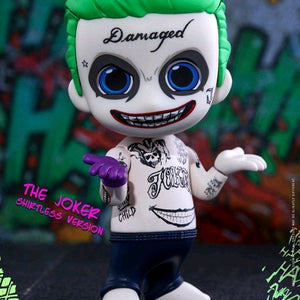 Suicide Squad - The Joker Shirtless Version Cosbaby Figure Hot Toys