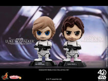 Load image into Gallery viewer, Star Wars - Luke Skywalker & Han Solo in Stormtrooper Disguise Version Set of 2 Cosbaby Hot Toys