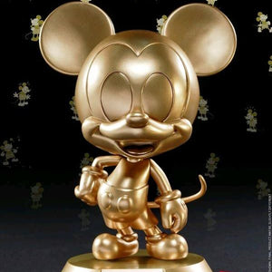 Mickey Mouse - Mickey Mouse Golden 90th Anniversary Cosbaby Collectible Figure Hot Toys