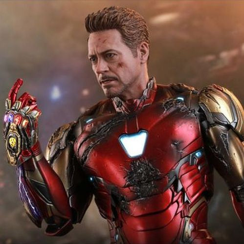 Avengers 4 Endgame - Iron Man Mark LXXXV 85 Battle Damaged MMS543D33 1/6 Scale Collectible Figure Hot Toys