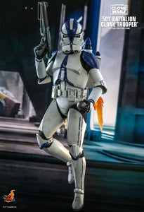 Star Wars The Clone Wars - 501st Battalion Clone Trooper TMS022 1/6 Scale Articulated Figure Hot Toys