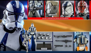 Copy of Star Wars The Clone Wars - 501st Battalion Clone Trooper Deluxe TMS023 1/6 Scale Articulated Figure Hot Toys