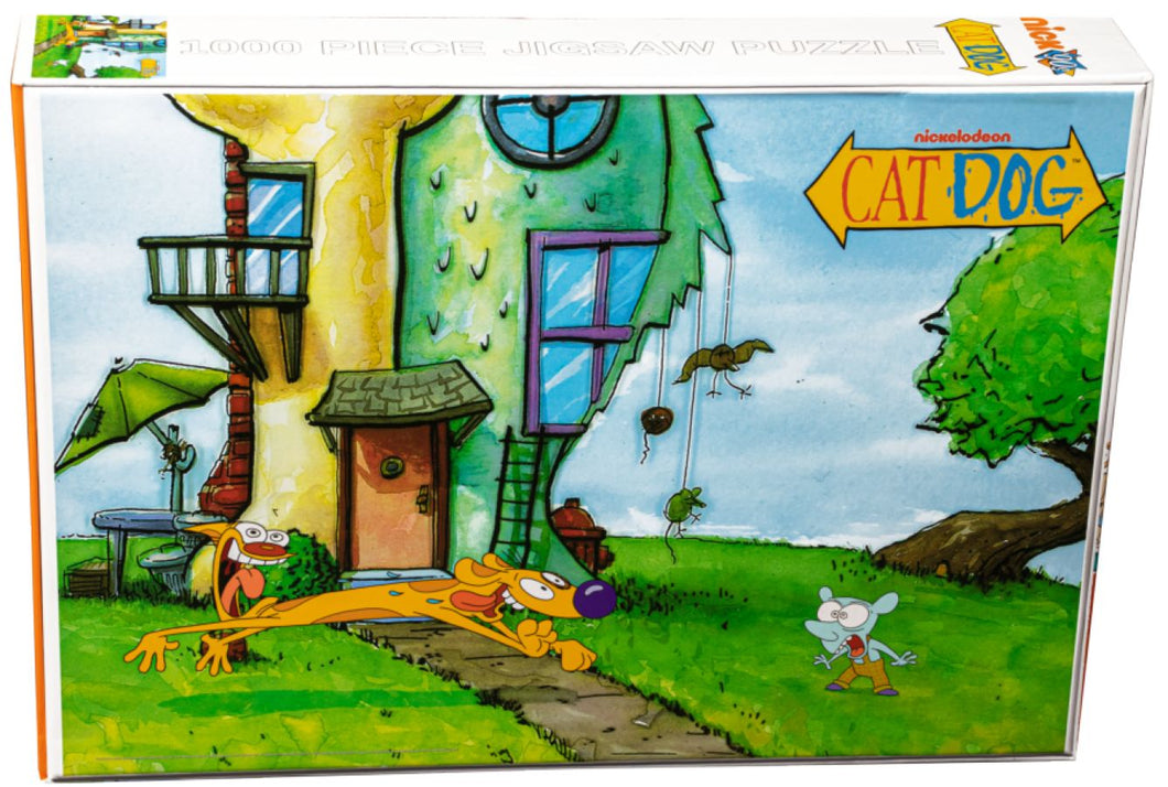 CatDog - Yard 1000 piece Jigsaw Puzzle Ikon Collectables
