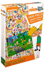 Load image into Gallery viewer, Hey Arnold! 1000 piece Jigsaw Puzzle Ikon Collectables