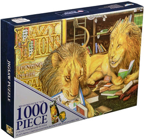 Animalia - Lazy Lions 1000 piece Jigsaw Puzzle Ikon Collectables