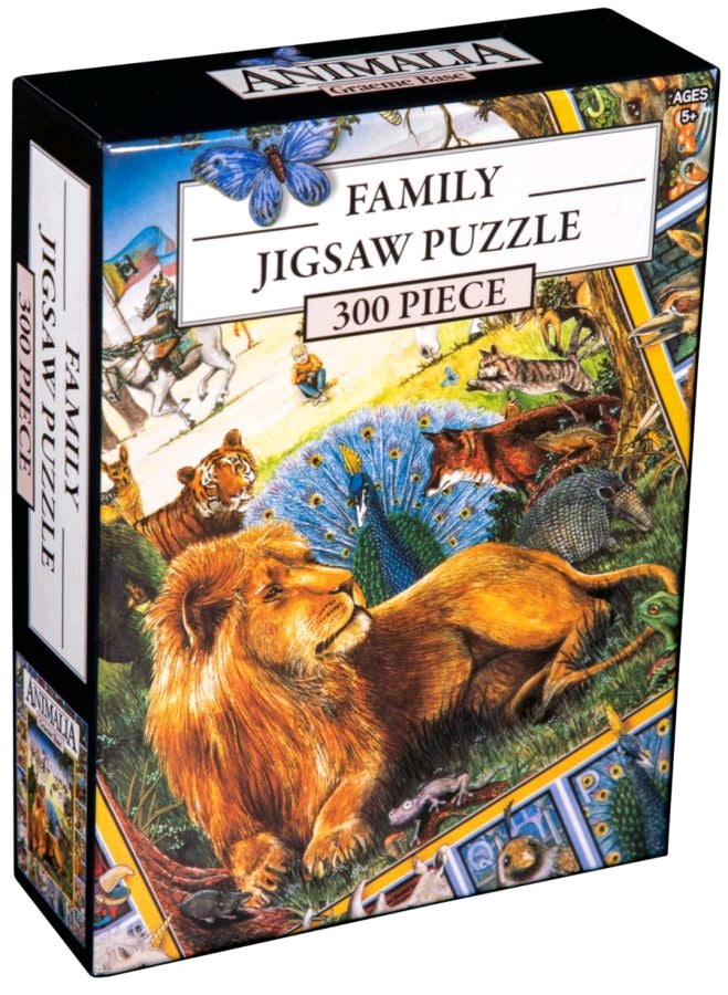 Animalia - Book Cover 300 piece Jigsaw Puzzle Ikon Collectables