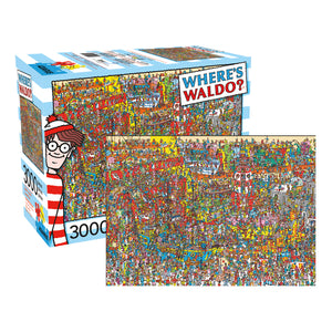 Where's Waldo - Where's Waldo 3000 piece Jigsaw Puzzle Aquarius
