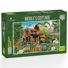 Load image into Gallery viewer, Merle's Cottage 1000 piece Jigsaw Puzzle Funbox
