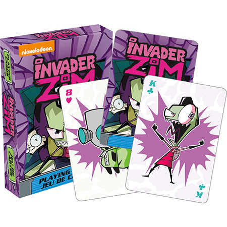 Invader Zim - Zim & Gir 52 Playing Cards Aquarius