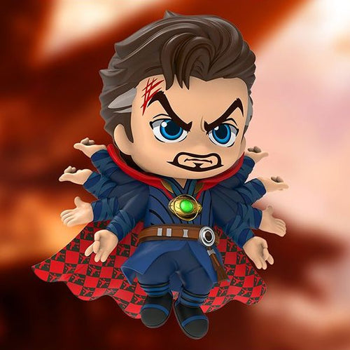 Avengers 3 Infinity War - Doctor Strange Fighting Version Cosbaby Bobble-head Hot Toys