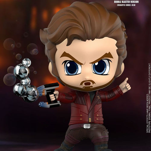 Avengers 3 Infinity War - Star Lord Bubble Blaster Version Cosbaby Bobble-head Hot Toys